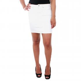 Vero Moda Falda Blanco 10209896 VMHOT SEVEN MR SHORT SKIRT COLOR BRIGHT WHITE