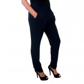 Vero Moda Pantalón Azul marino 10201940 VMSAGA NW STRING PANT NIGHT SKY SOLID