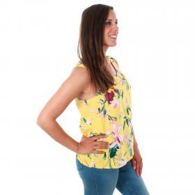 Vero Moda Camiseta Amarillo 10211479 VMSIMPLY EASY SL TANL TOP YARROW TRILLE
