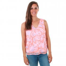Vero Moda Camiseta Rosa 10214431 VMWILLOW SL TOP PRISM PINK