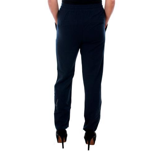 Vero Moda Pantalón Azul marino 10210152 VMANNA MILO CITRUS ANCLE PANT WVN NIGHT SKY