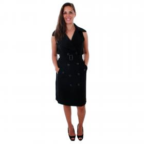 Vero Moda Vestido Negro 10211944 VMBELLA SL WAISTCOAT BLACK