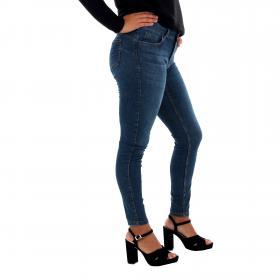 Vero Moda Jeans slim Azul oscuro 10217517 VMSEVEN MR S SHAPE UP J VI334 NOOS GA DARK BLUE DENIM