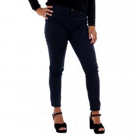 Vero Moda Jeans slim Azul marino 10210798 VMHOT SEVEN MR SLIM PUSH UP PANTS NIGHT SKY