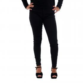 Vero Moda Jeans slim Negro 10210798 VMHOT SEVEN MR SLIM PUSH UP PANTS BLACK