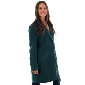 Vero Moda Abrigo Verde oscuro 10215805 VMCALA CINDY AW19 3/4 JACKET BOOS PONDEROSA PINE