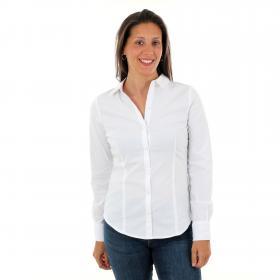 Vero Moda Camisa Blanco 10220720 VMLIVA LS SHIRT GA NOOS BRIGHT WHITE