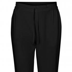 VERO MODA Pantalón Negro 10227814 VMSIMPLY EASY NE LOOSE PANT WNN GA BLACK