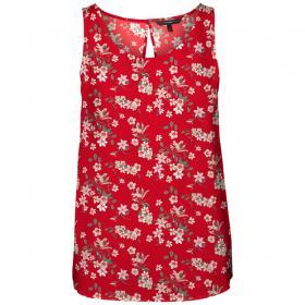 VERO MODA Camiseta Rojo 10227823 VMSIMPLY EASY SL TANK TOP WVN GA GOJI BERRY