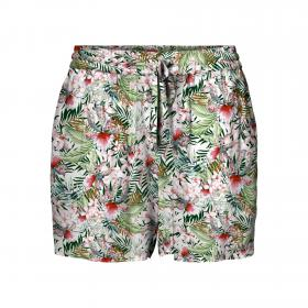 VERO MODA Shorts Blanco 10227813 VMSIMPLY EASY NW SHORTS WVN GA SNOW WHITE