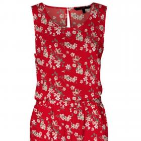 VERO MODA Vestido Rojo 10227831 VMSIMPLY EASY SL TANL JUMPSUIT WVN GA GOJI BERRY