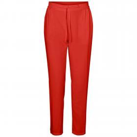 VERO MODA Pantalón Rojo 10227814 VMSIMPLY EASY NW LOOSE PANT WVN GA AURORA RED
