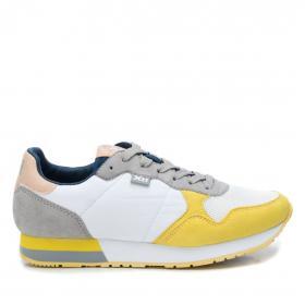XTI Zapatillas Amarillo 49820 BLANCO-AMARILLO